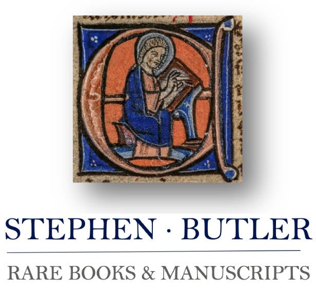 Stephen Butler Books & Manuscripts