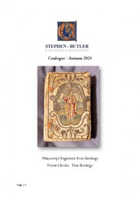 Catalogue Autumn 2021 Bindings